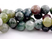 бусины цвет микс приглушенные: зеленый, сиреневый, серый.