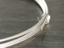Проволока из стерлингового серебра, мягкая для изготовления ювелирных украшений ручной работы,