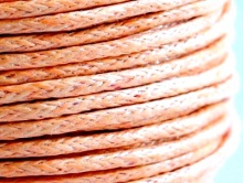 Качественный вощеный шнур из 100% хлопка