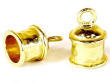Концевик на 6-ти мм. шнур для изготовления украшений