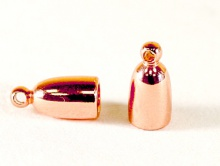 Концевик на 3-х мм. шнур для изготовления украшений