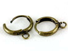 Швензы кольца цв. бронза 12/16/2.5 мм. античная бронза