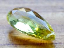 Бусина, камень лимонный топаз природный на который можно любоваться