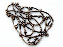 Коннектор natural brass