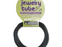 Шнур каучуковый полый, 2 мм. Цвет - черный.