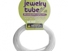 Шнур каучуковый полый, 2 мм. Цвет - прозрачный. Идеален для браслетов, полость внутри шнура позволяет создавать работы из проволоки с эффектом памяти,