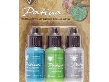 """Набор красок Santa Fe Market Патина """"Vintaj Patinas"""" непрозрачные, износостойкие, быстрого высыхания краски для покрытия металла."""