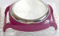 Корпус кварцевых часов HARMI, цвет корпуса розово-малиновый цыферблат белый с серебристой отделкой, диаметр 39.8 мм. общий размер с отверстиями под ремешок-50 мм. отверстие для ремешка или браслета 18.5 мм.х5.4 мм.