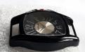 Корпус кварцевых часов HARMI, цвет корпуса черный, цыферблат чёрный с серебристой отделкой, длина 51 мм. ширина 41 мм.