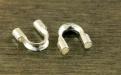 Протэктор из серебра Sterling Silver для тросика или нити с сечением не более 0.85 мм. материал-серебро 92.5 %