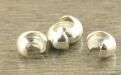 Бусина на кримп обжимная из серебра, размер в закрытом виде-2.5 мм.