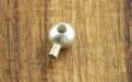 Товар-кримп зажимной профессиональный Magical Сreamplooks. Диаметр-3 мм. Цвет-серебряный