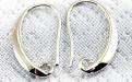 Швензы (цвет белое серебро) 19х11х2 мм.