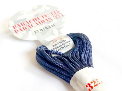 Паракорд, шнур Para Cord 325 Navy, цвет темно-синий, толщина 3 мм., длина 6,4 метра