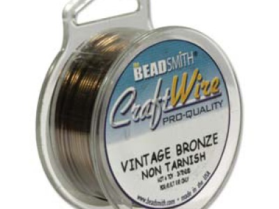 проволока для творческих работ Craft Wire. Размер-1.02 мм. (18 ga). Цвет-проволока для творческих работ Craft Wire. Размер-1.02 мм.  (красивый, золотисто-коричневый