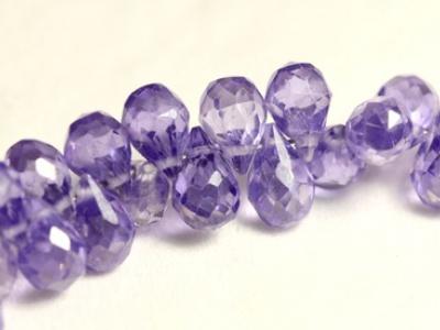 бриолет мелкий из Циркона  капля