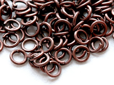Кольцо открытое (Китай) Цвет-античная медь  Материал-медный сплав