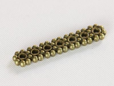 Спэйсер-разделитель на 7 нитей для создания многорядных браслетов