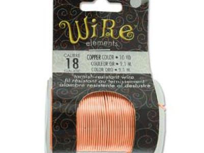 Проволока полужесткая Craft Wire Tarnish resistante Проволока медная отлакированная-нетускнеющая